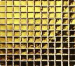 Byzantium Gold Mosaic Tile