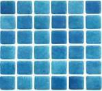 Niebla Foggy Deep Blue Mosaic Tile