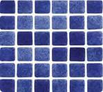 Niebla Foggy Sapphire Mosaic Tile